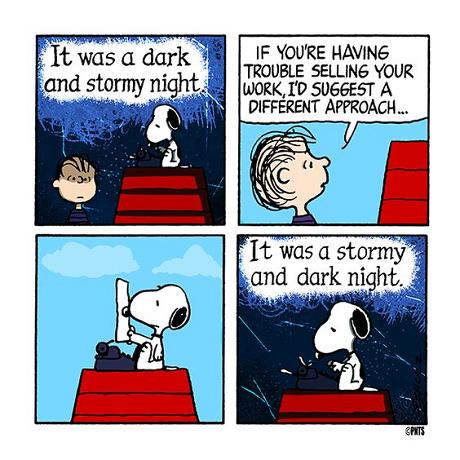 Snoopys writing amsimpson.net