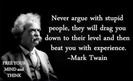 Never argue www.amsimpson.net