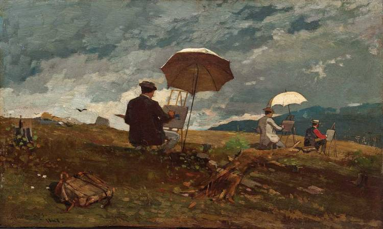 Winslow_Homer_-_Artists_Sketching_in_the_White_Mountains
